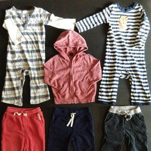 Toddler Boy Clothes Lot of 6 Sz 18-24M